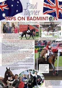 Taps on Badminton