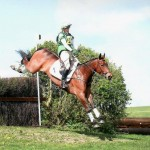 Georgina & Wickstead Ulara in flying style!
