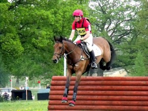 Paul Tapner riding Boston JRP at Tweseldwon horse trials May 20th 2013. Photo courtesy of Lorraine Porter