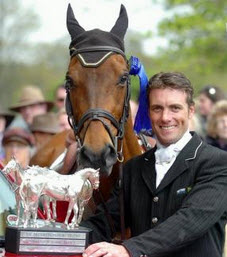 Paul Tapner & Inonothing after their Badminton 2010 win