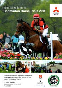 Badminton Horse Trials Programme 2011