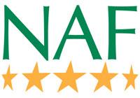 NAF 5 star logo