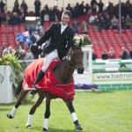 Winning the Badminton Horse Trials in 2010