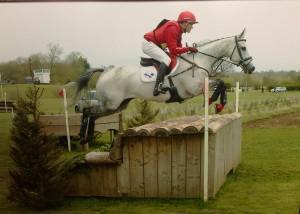 Paul Tapner & retrained racehorse Inishmor