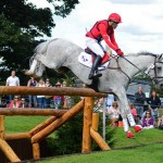 Paul Tapner & Kilronan at Burghley Sept 2013