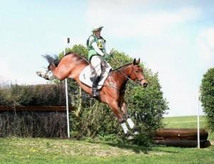 Georgina & Wickstead Ulara in flying style!