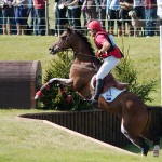 Mannie at Burghley in 2009
