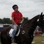 Georgina & Scottie (Kilfinnie), Burghley 2009