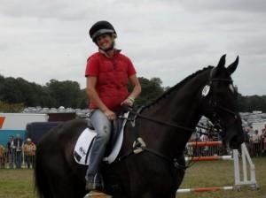 Georgina & Scottie (Kilfinnie), Burghley 2009