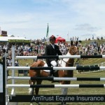 Paul & Tiger after winning the Amtrust Equine Eventers' High Jump at Barbury 2010