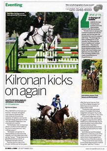 Kilronan kicks on again