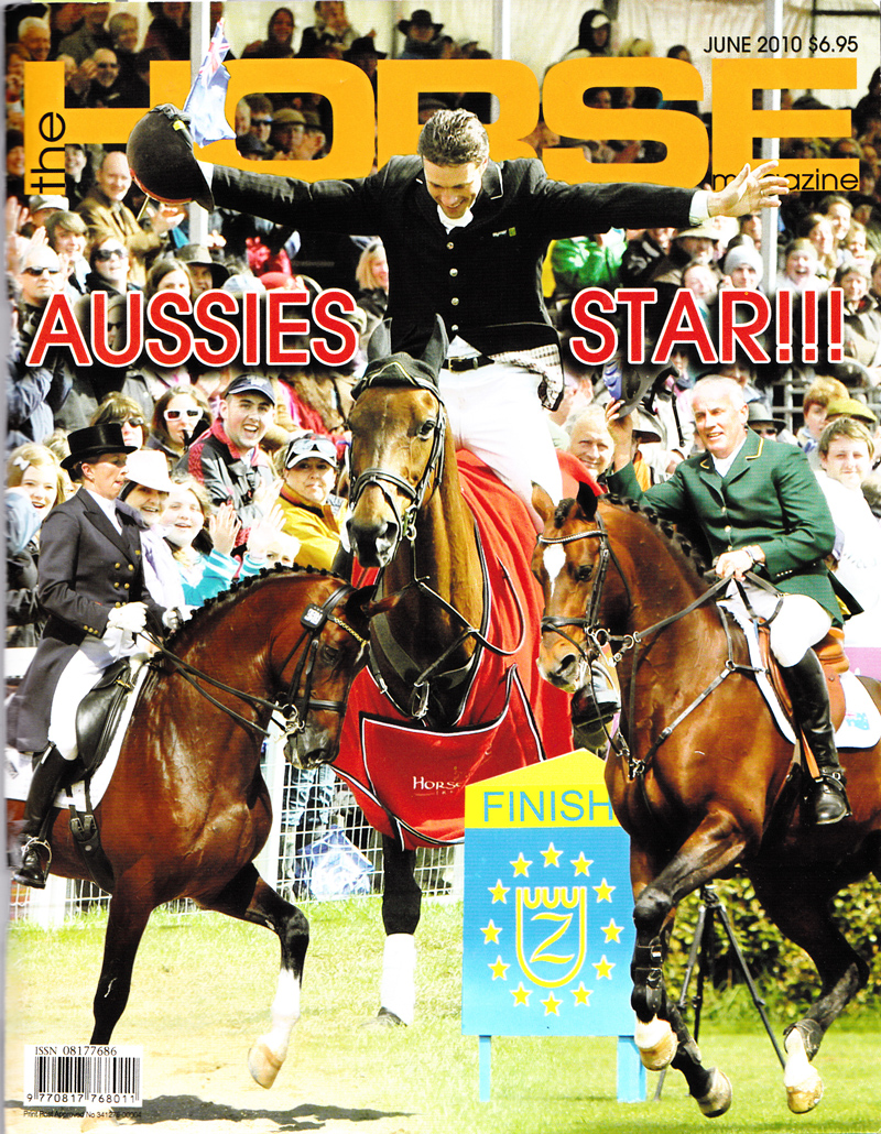 The Horse Magazine - June 2010 COVER (web version)