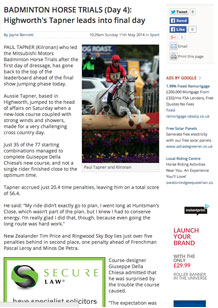 Badminton Horse Trials (Day 4): Highworth